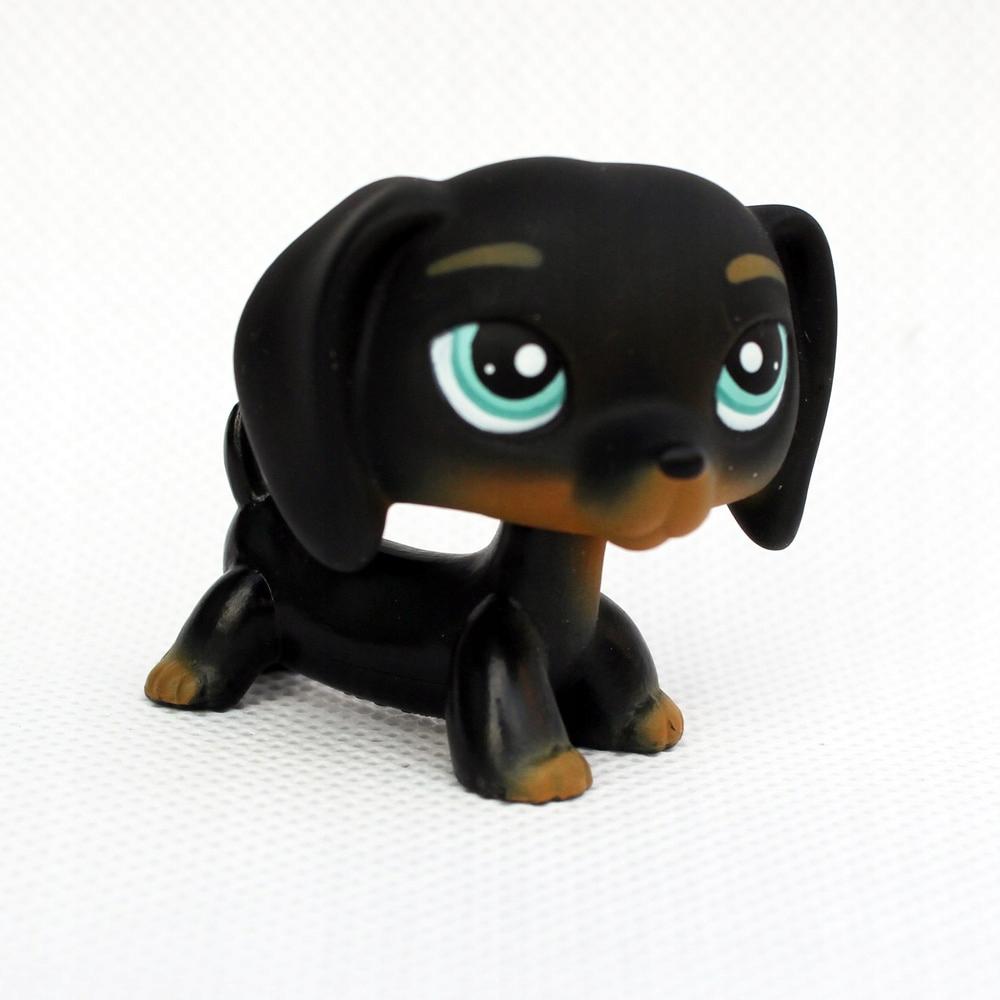 "2/""  Littlest Pet Shop Lps608 Figure Yellow Tan  Collie Dog Puppy"