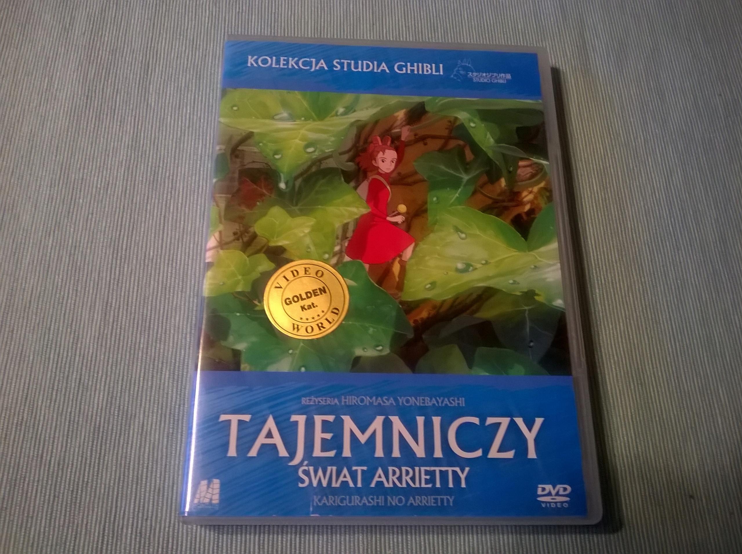 TAJEMNICZY ŚWIAT ARRIETTY (2010) Ghibli