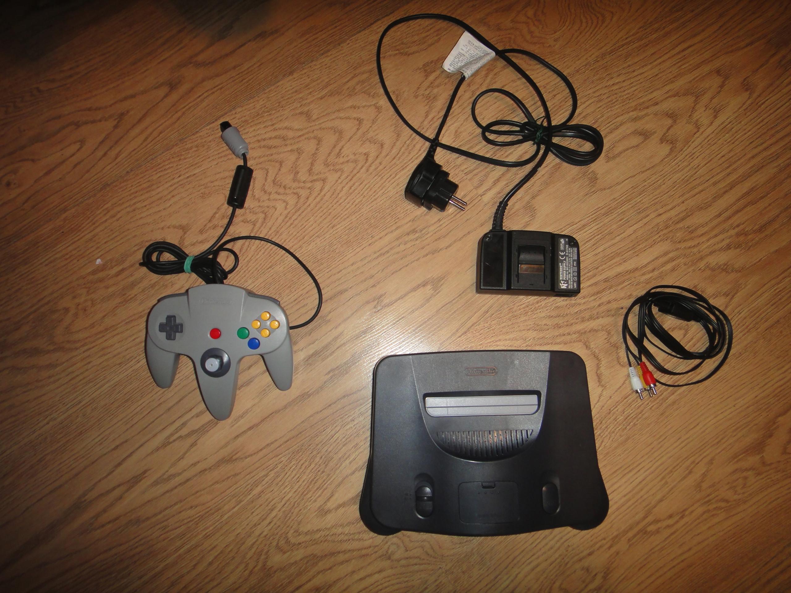 Nintendo 64 komplet zestaw PAL
