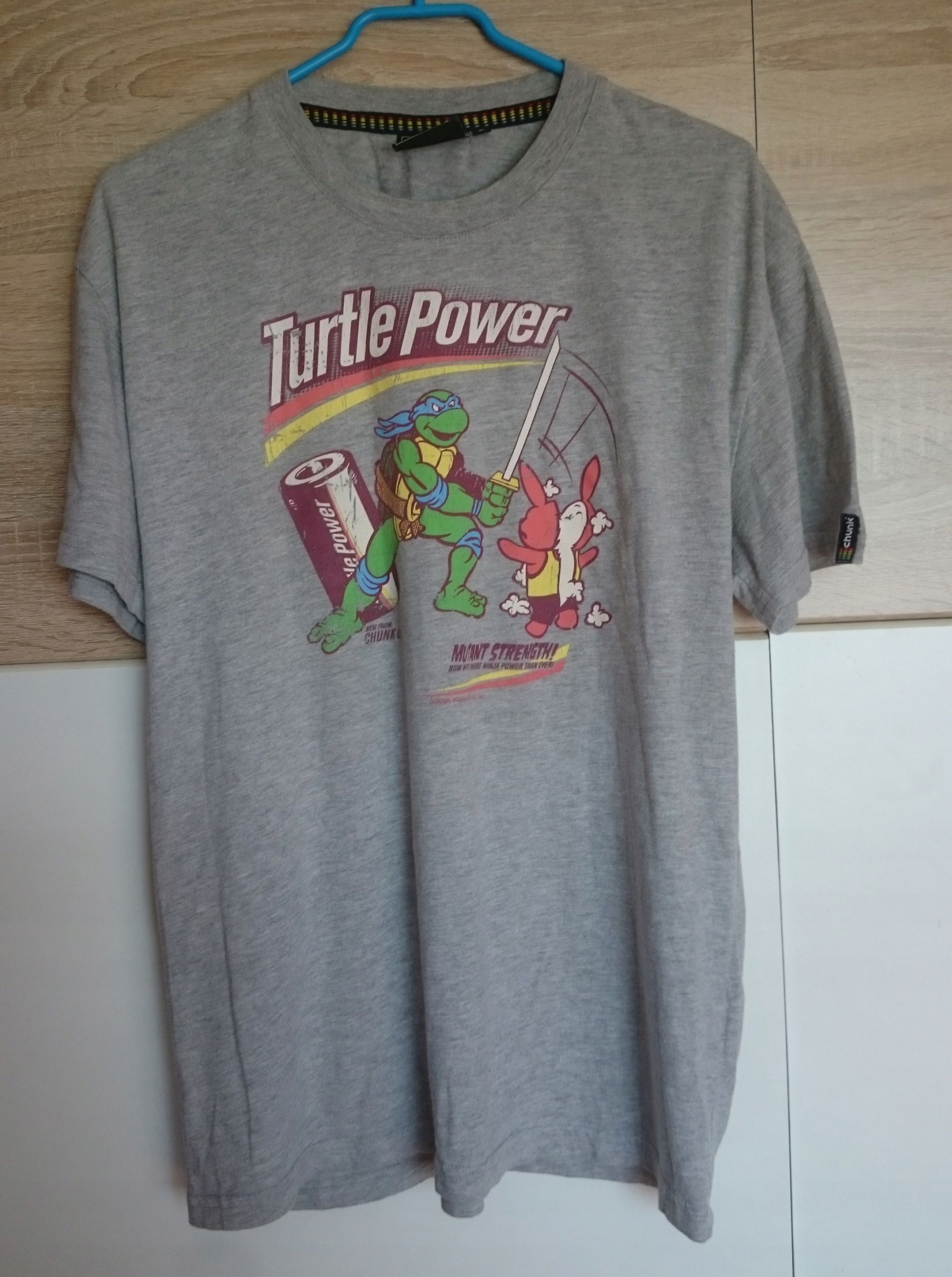 KOSZULKA turtles power t-shirt Żółwie ninja