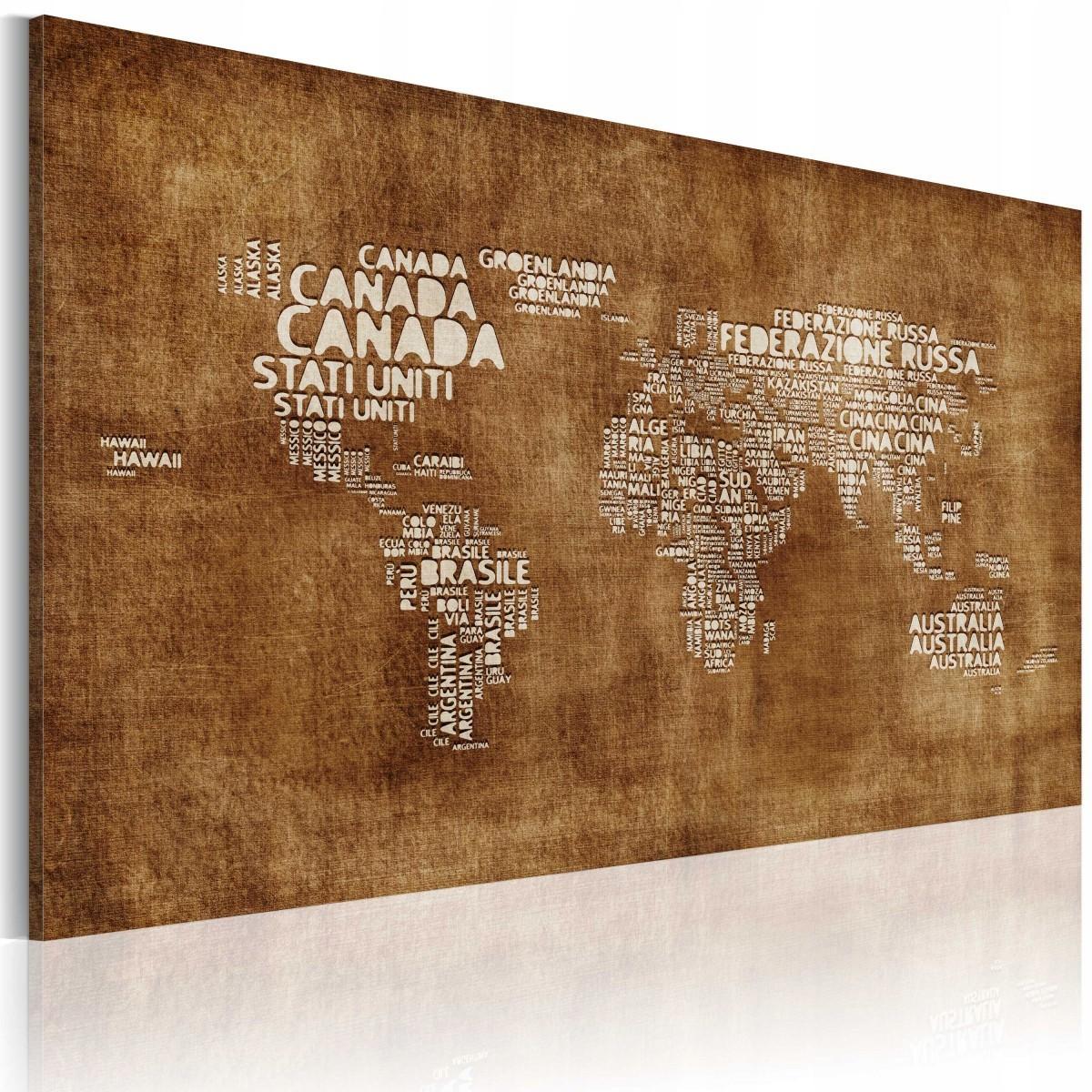 Obraz Zaginiona Mapa 60x40 7425712236 Oficjalne