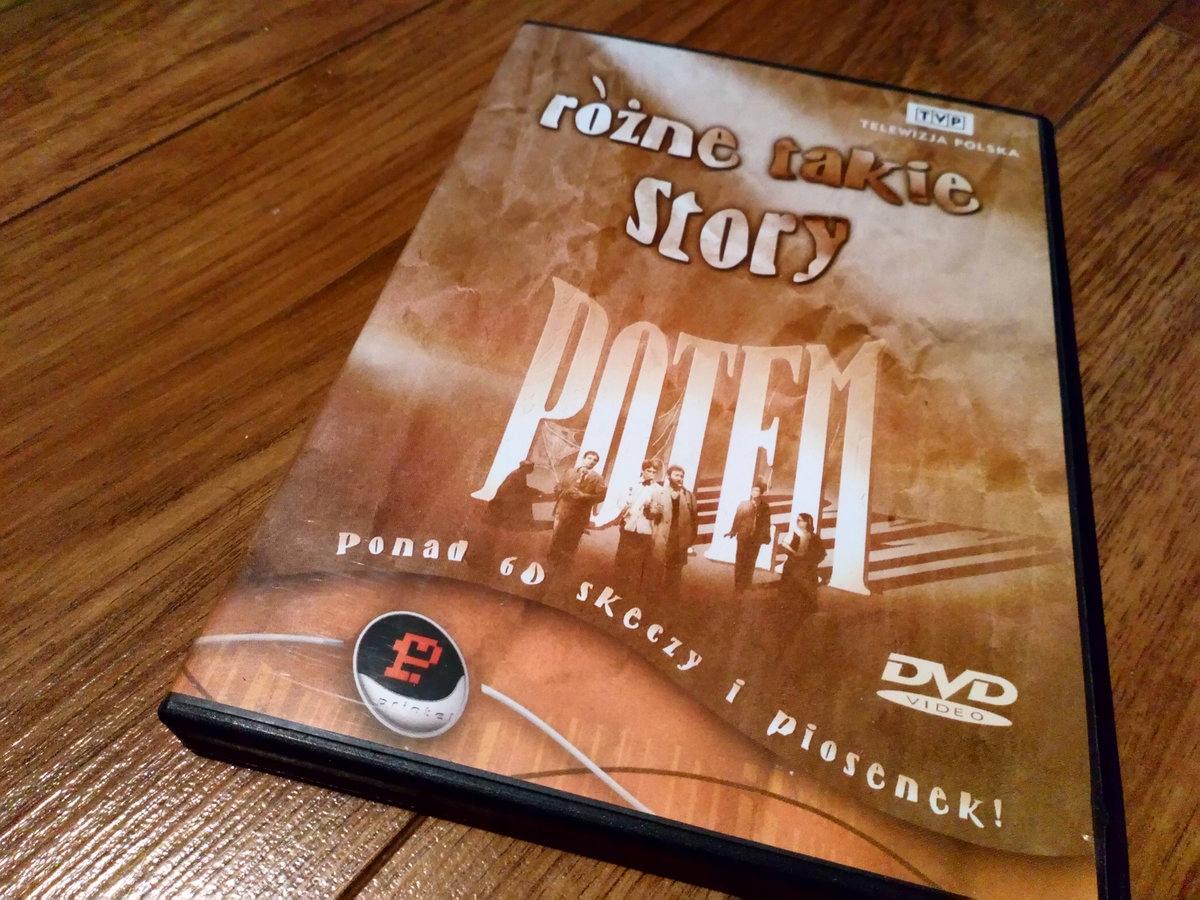 KABARET POTEM DZIKIE RÓŻNE TAKIE STORY DVD HRABI