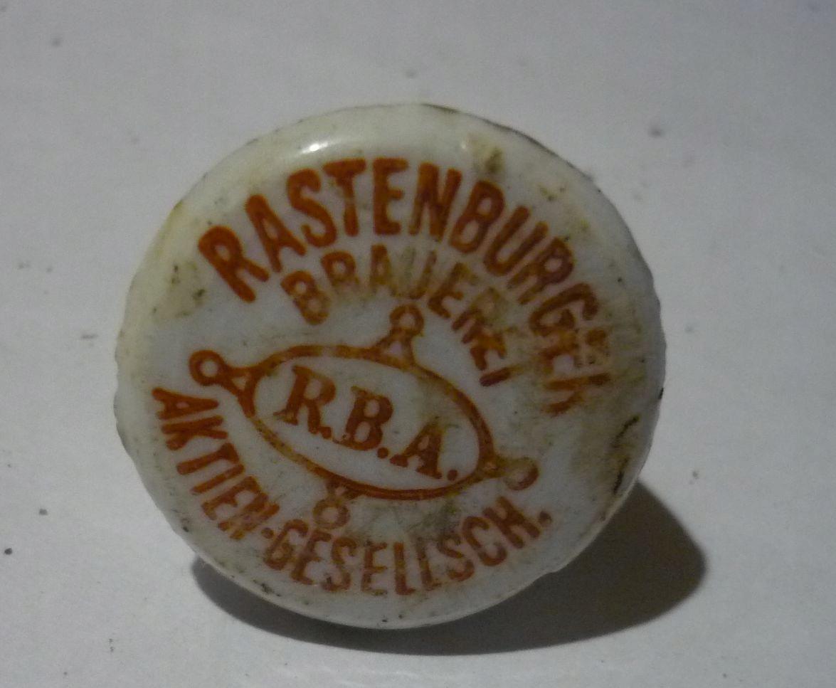 porcelanka BROWAR KĘTRZYN - RASTENBURGER BRAUEREI