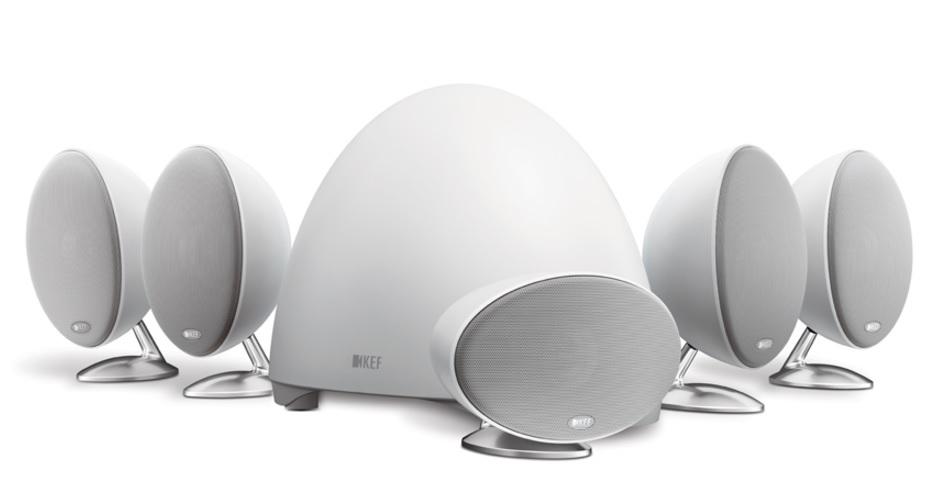 KEF E 305 system 5.1 Zestaw głośników kina