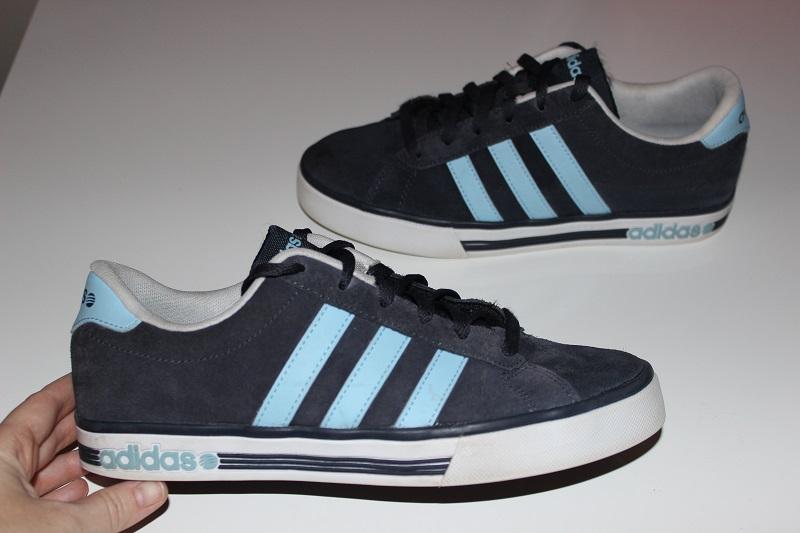 Sklep Adidas Męskie Buty Skate Neo Sneaker Zamszowe Mocne