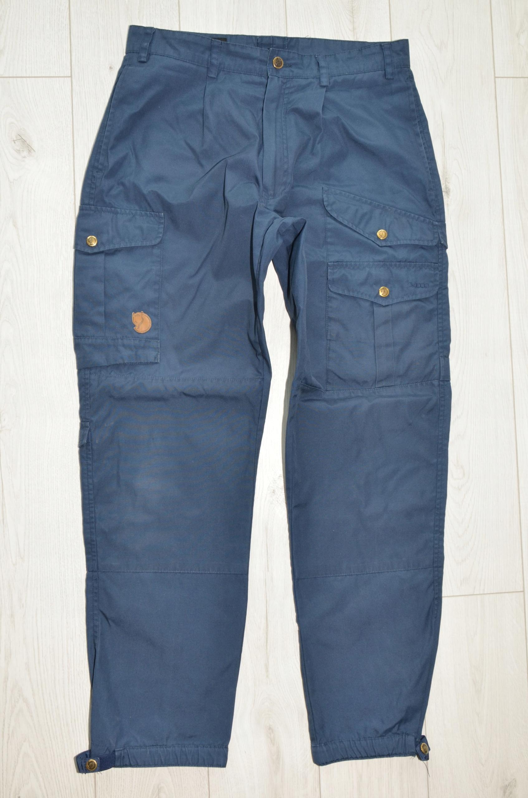 Męskie spodnie FJALLRAVEN G-1000 r 48