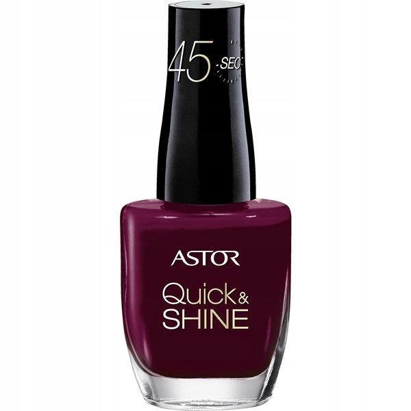 Astor Quick & Shine lakier do paznokci 525 Lov