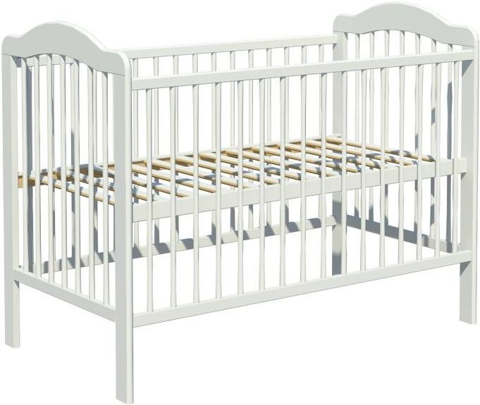 Łóżeczko dziecięce ALEK 120x60cm biały