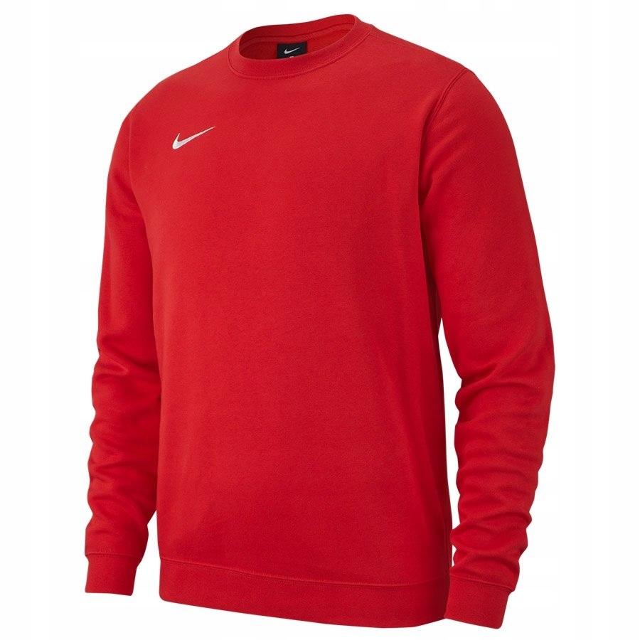 Bluza Nike Crew FLC TM Club 19 AJ1466 657 czerwony