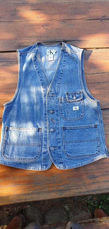 Calvin Klein jeans kamizelka denim S vintage