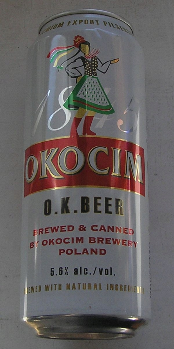 PUSZKA PIWO OKOCIM O.K. BEER 2007 2