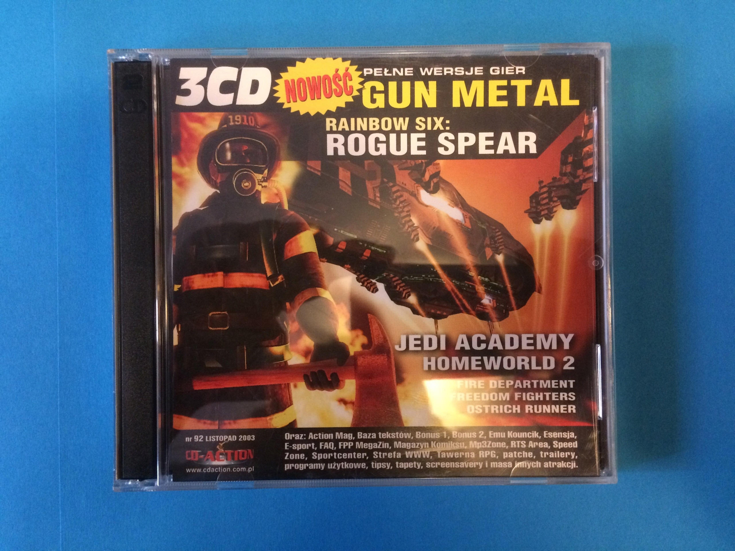 CD-ACTION 92: Gun Metal