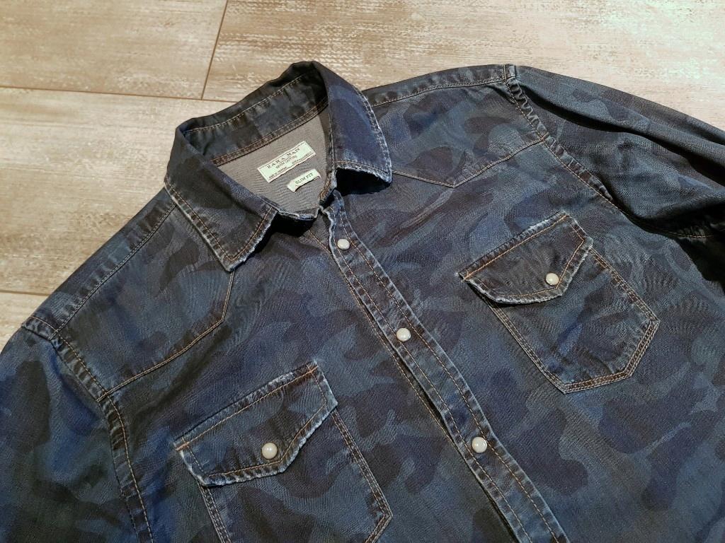 koszula jeansowa moro Zara roz. M