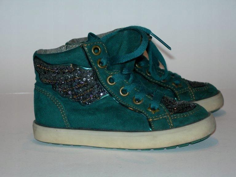 NEXT buty z brokatowymi wstawkami rozm. 25,5