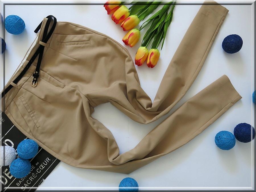 RESERVED spodnie CYGARETKI eleganckie R 34/36