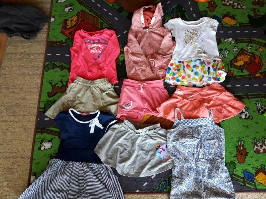 Zestaw ubranek dla dziewczynki r.92 wiosna i Lato