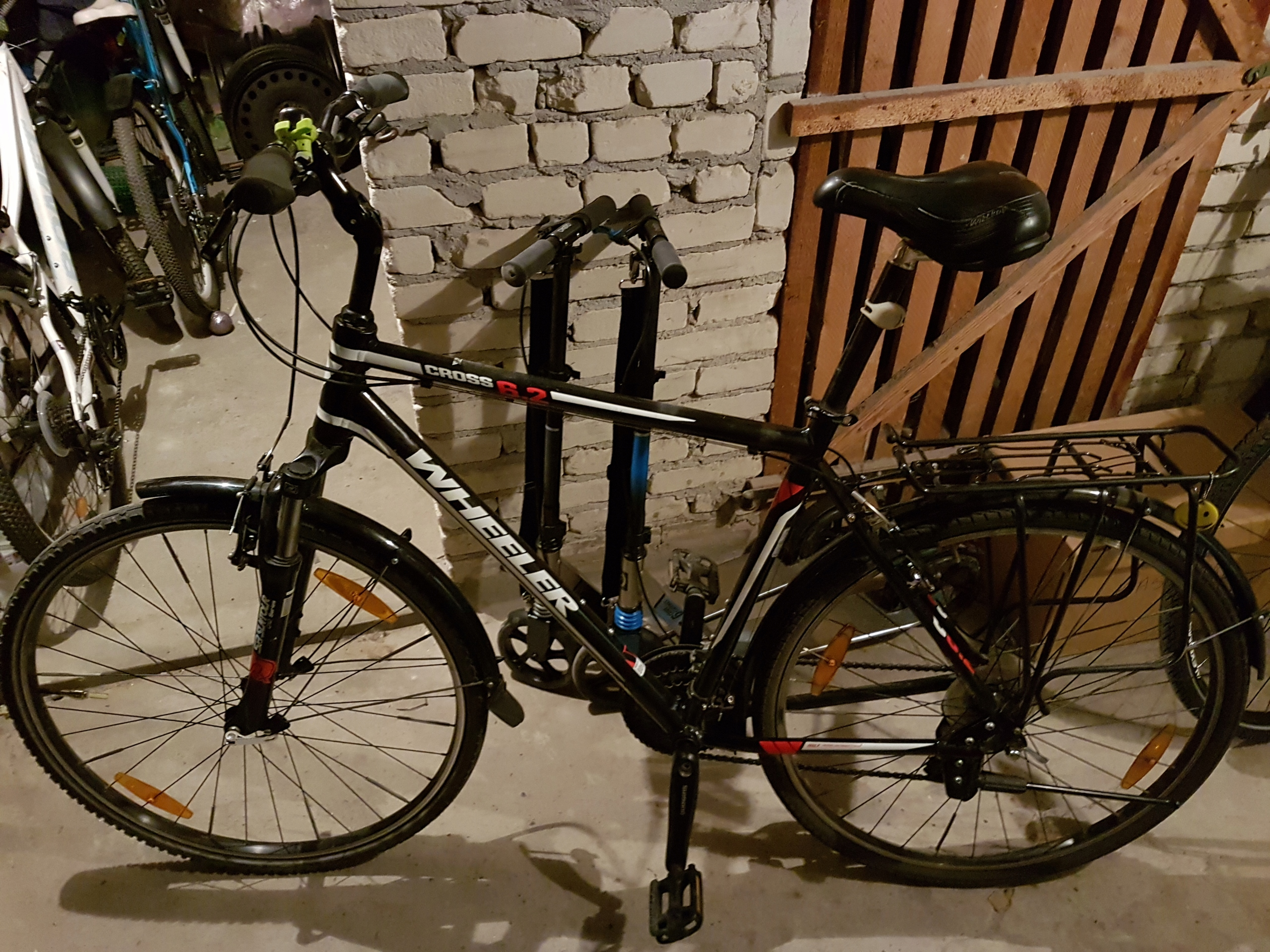 Rower wheeler 6.2, 28 cali, rama xl