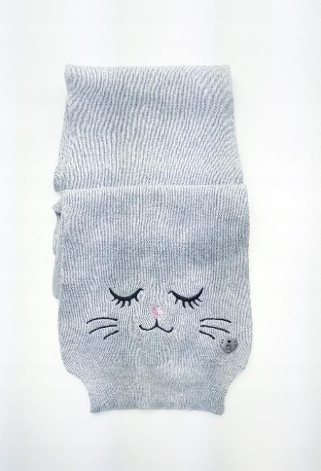 TOM TAILOR Szary szalik kotek (OS)