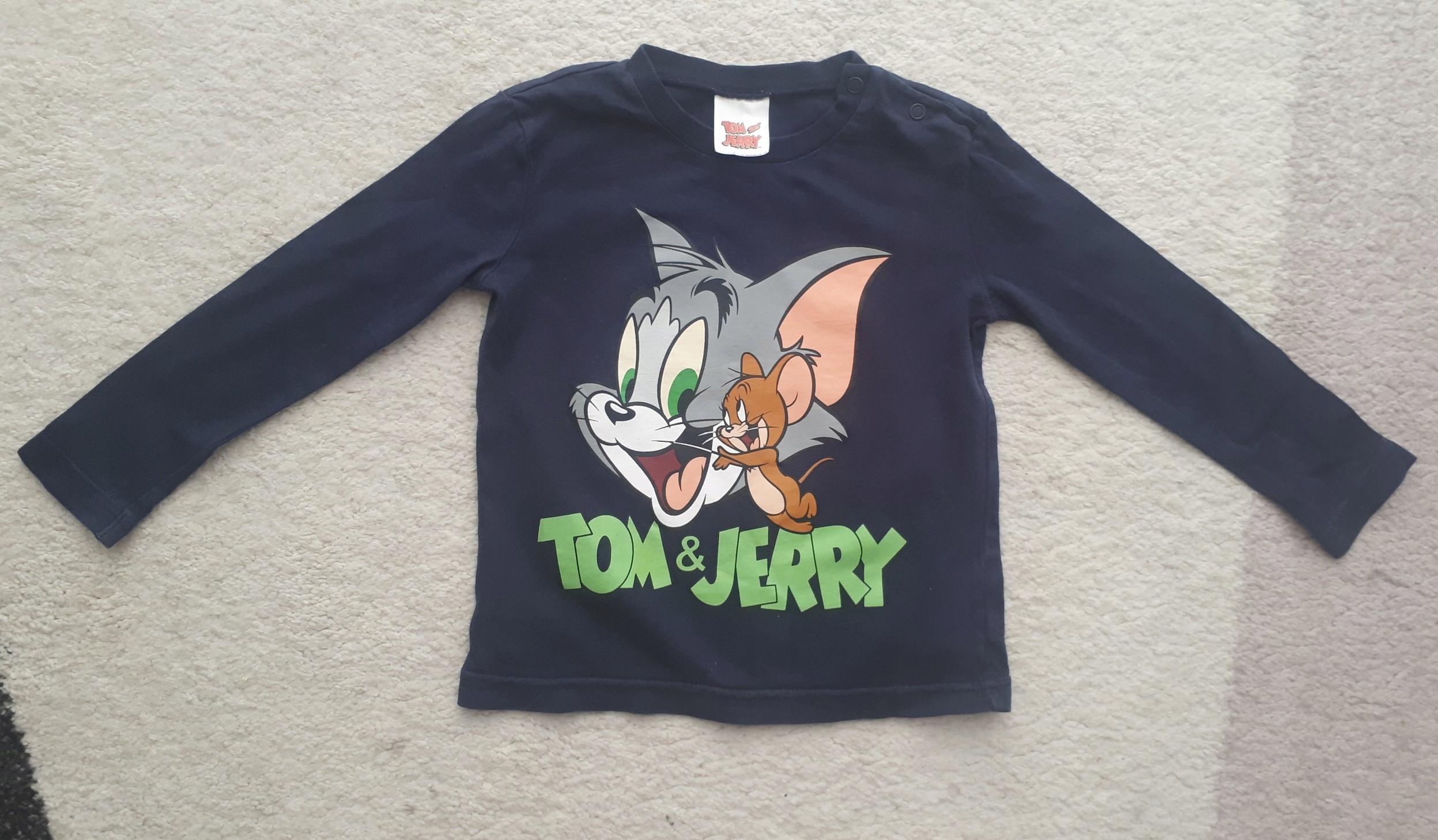 BLUZKA Tom and Jerry 18-24 m-ce/92 cm
