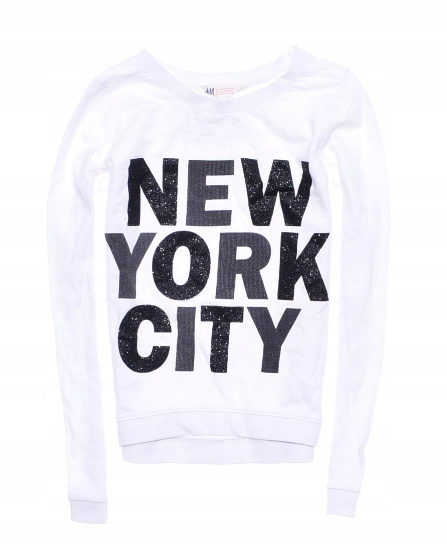 9105-25 ...H&M m#b BLUZKA NEW YORK CITY r.134