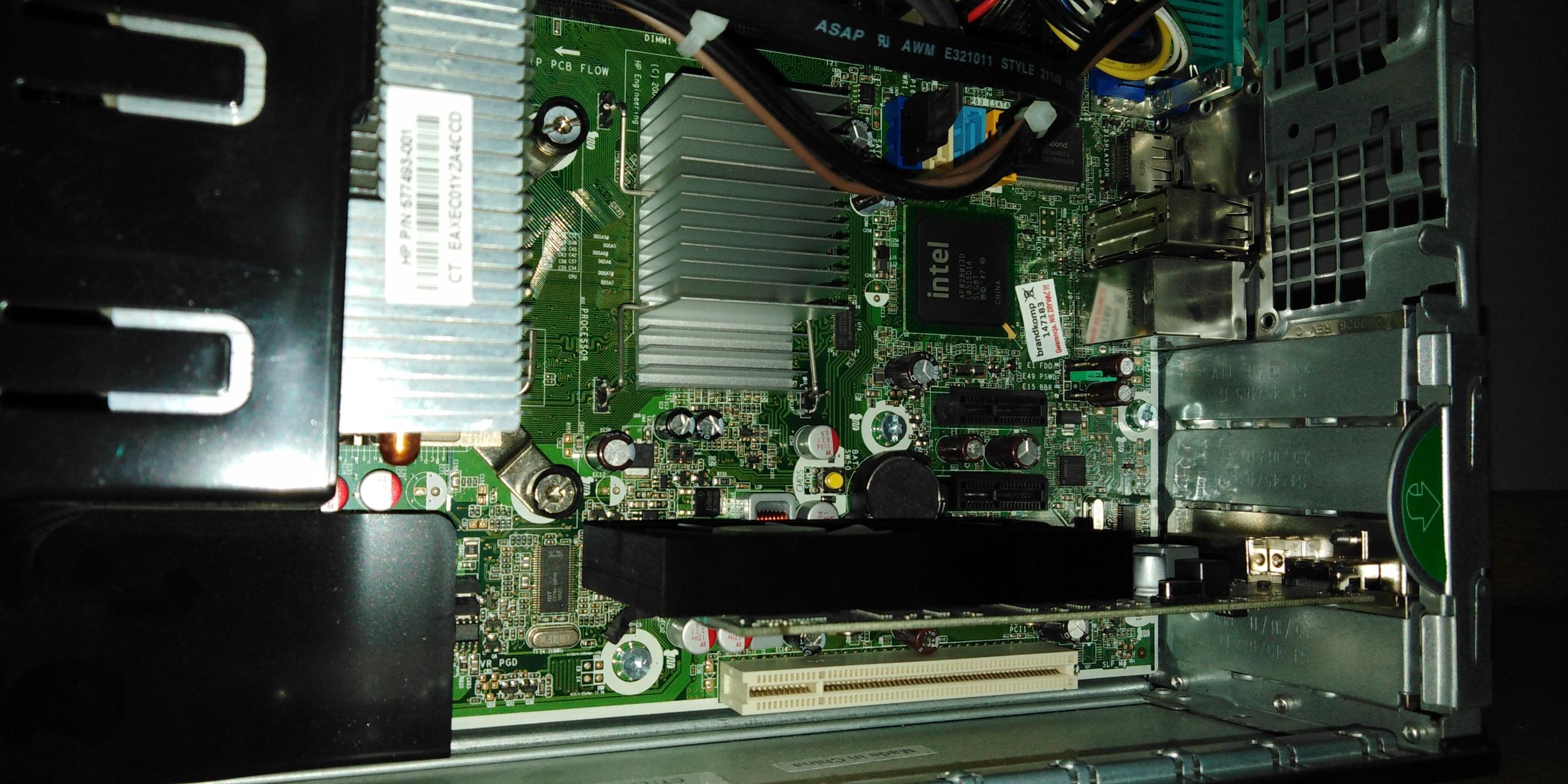 Komputer HP 6000 Pro SFF CPU 3,3GHz 4GB RAM GTX745 - 7843258697