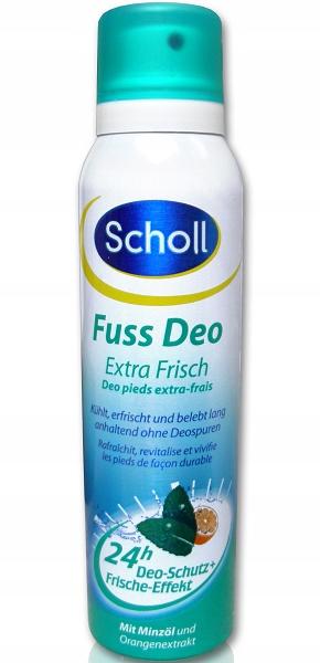 Scholl Extra Frish dezodorant do stóp 150ml.