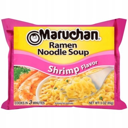 Maruchan Shrimp Ramen Noodles Soup Zupka Instant