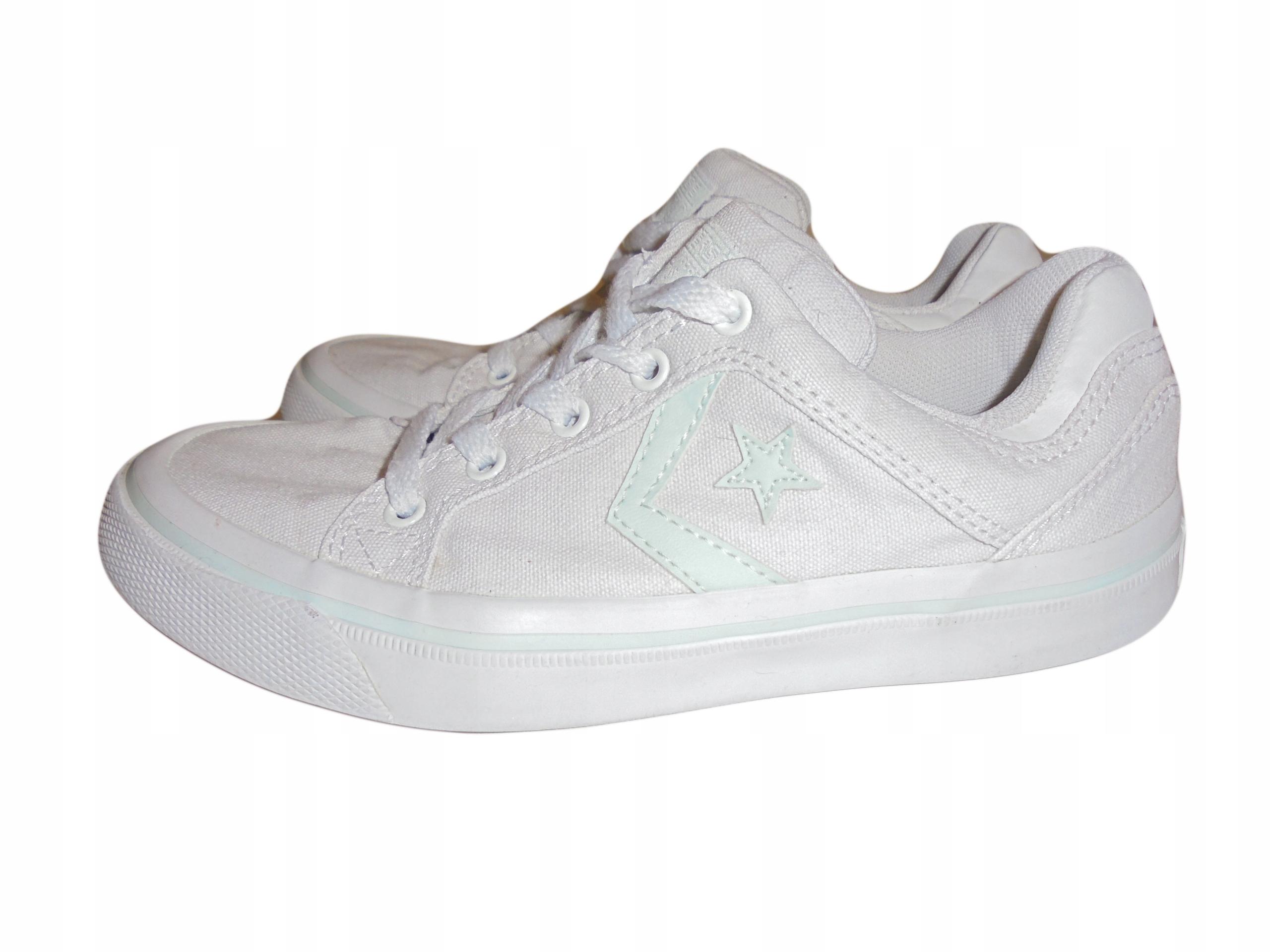 Białe tampki Converse, Stan idealny. Rozmiar 37.