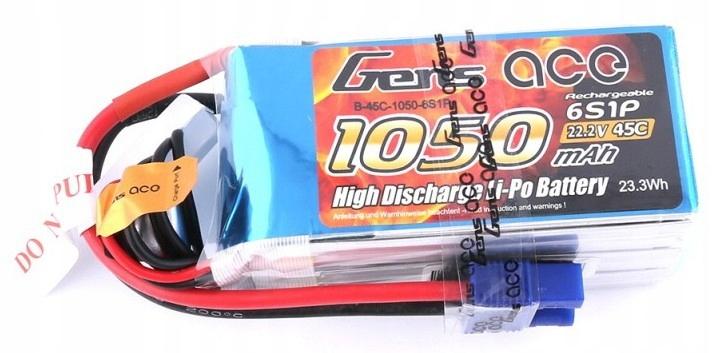 Akumulator 1050mAh 22.2V 45C Gens Ace