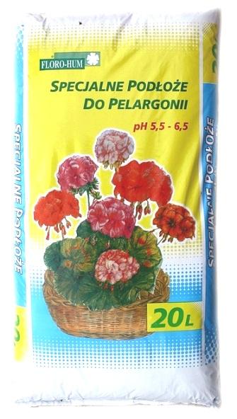 Ziemia Do Pelargonii Podłoże Uniwersalna Do Kwiat