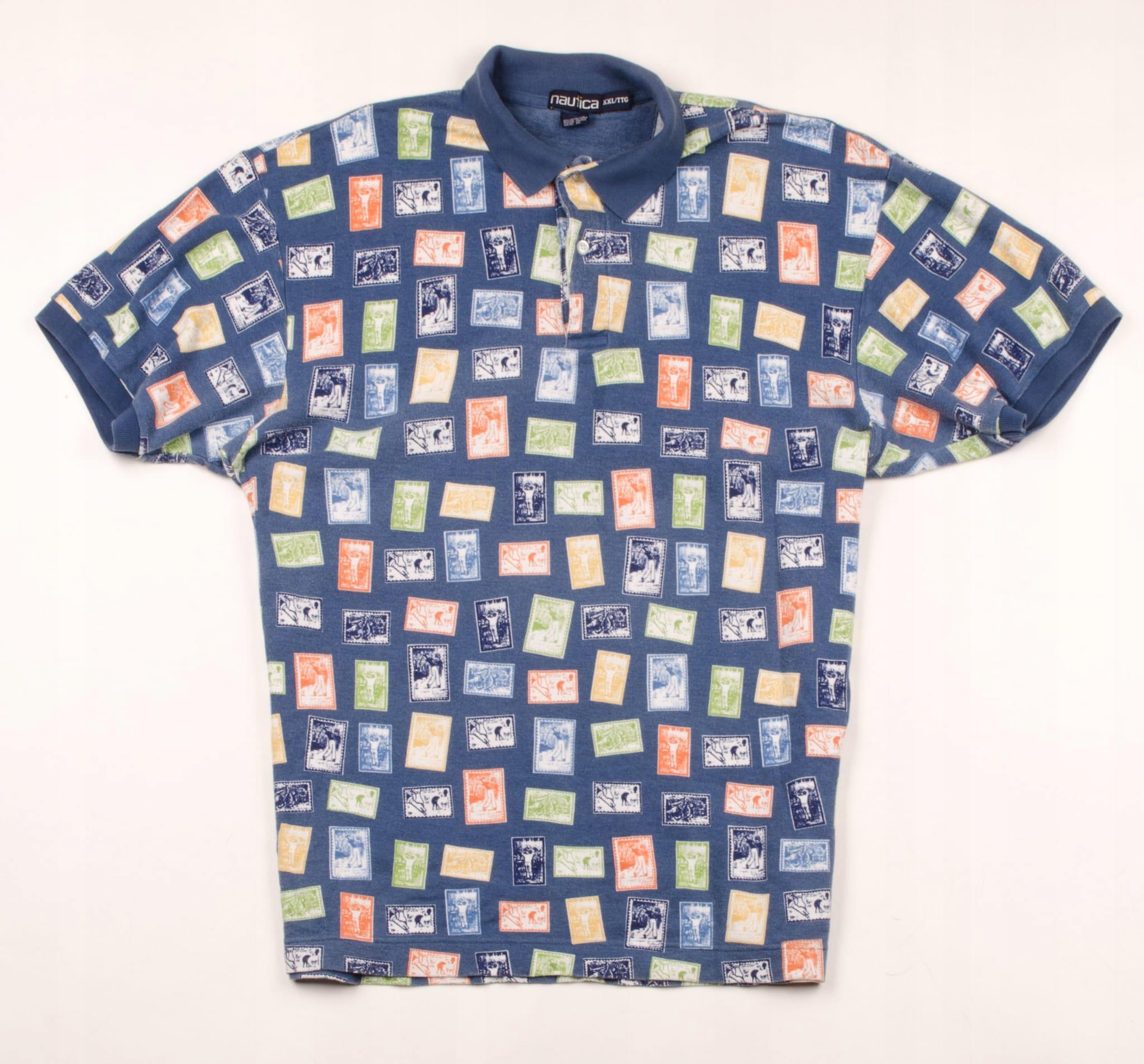 38950 Nautica Koszulka Polo Męska XXL