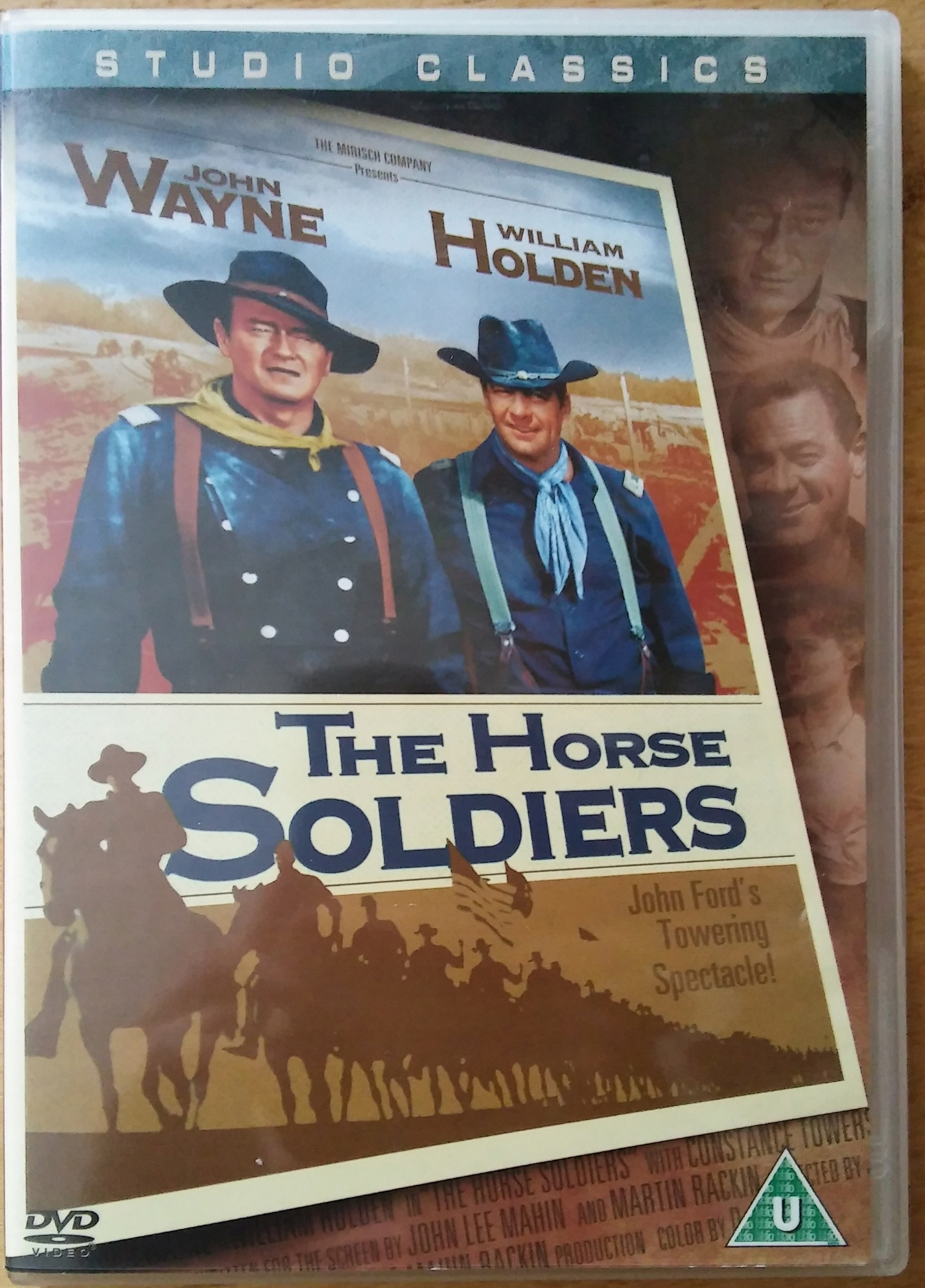 KONNICA - The Horse Soldiers (John Wayne, J. Ford)