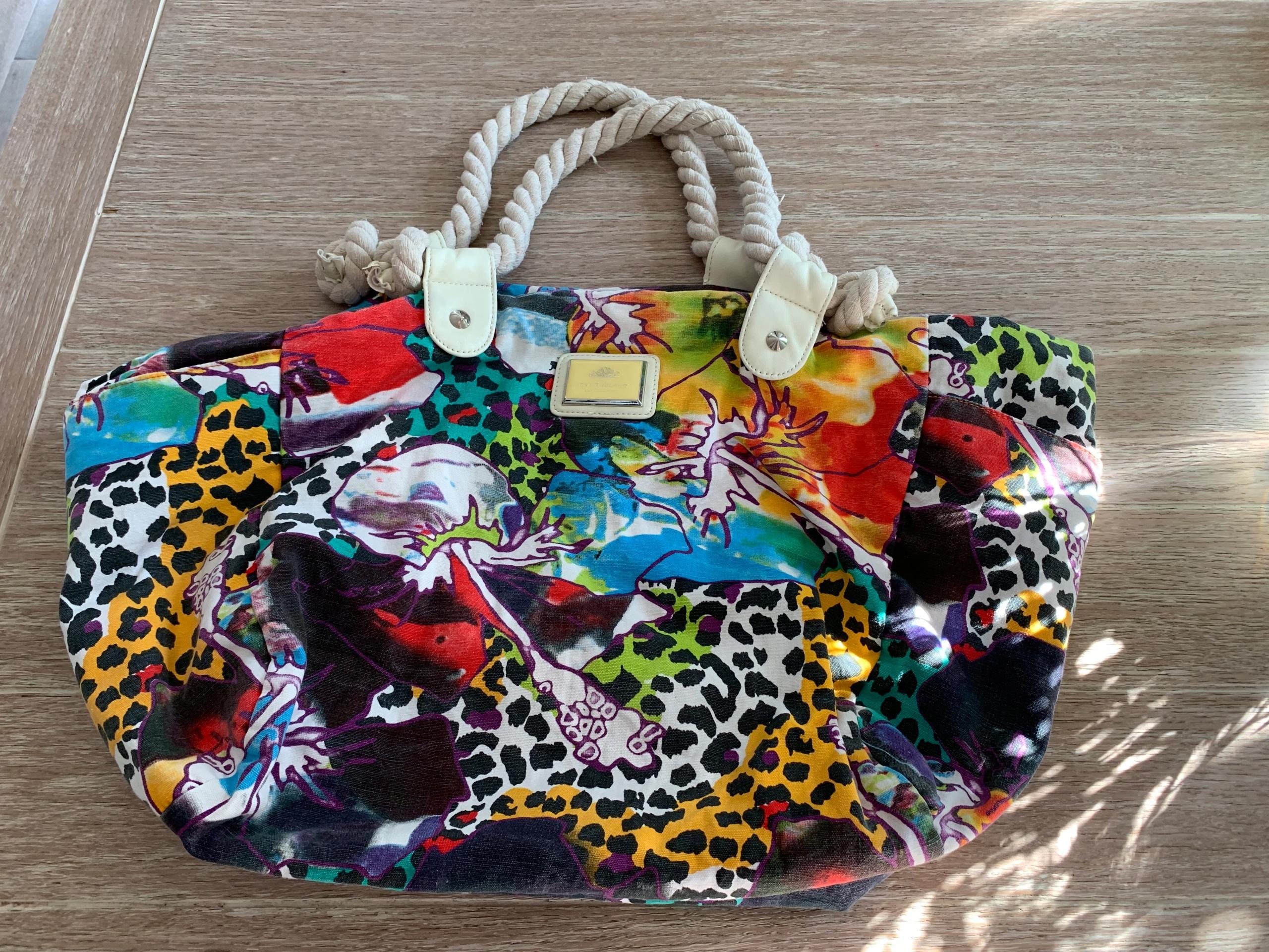 River Island torba letnia kolorowa śliczna