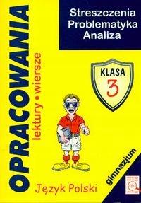 Opracowania Lektury Wiersze Kl3 Gimnjęzyk Polski