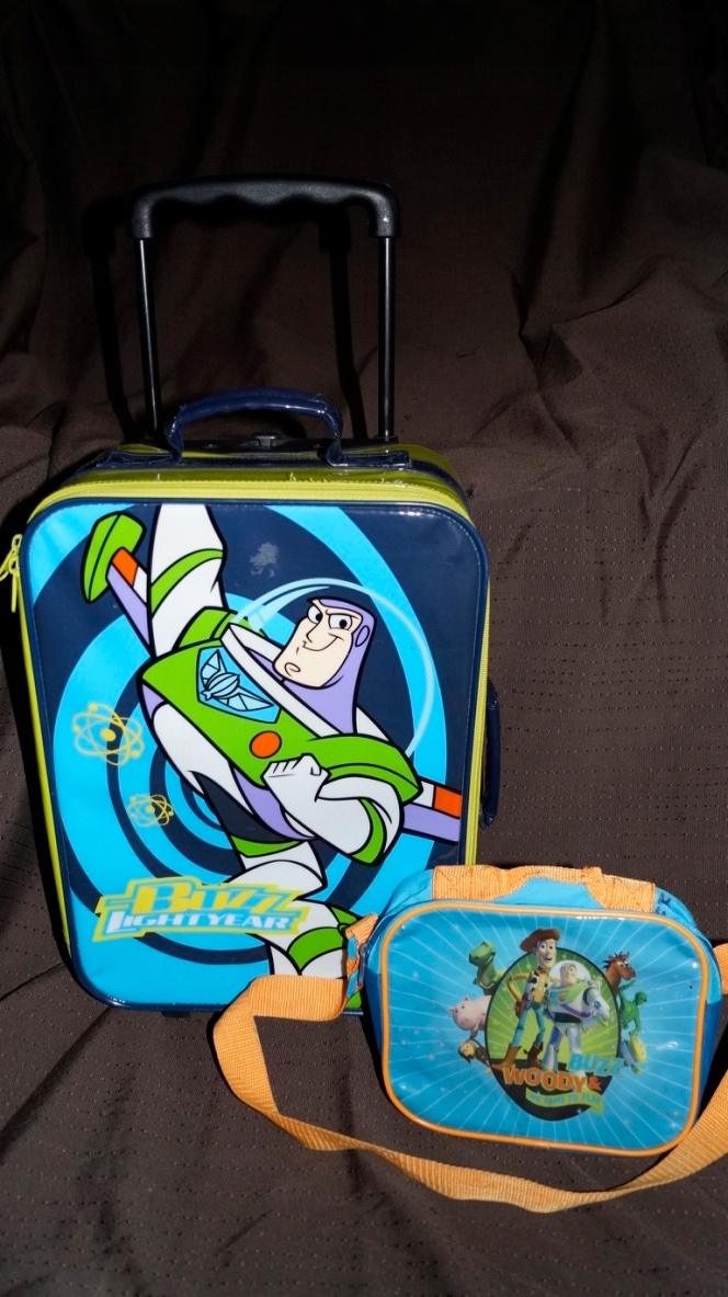 Walizka + torebka Toys Story