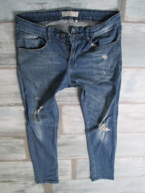 ZARA___SKINNY RURKI jeans męskie___W32L32 40