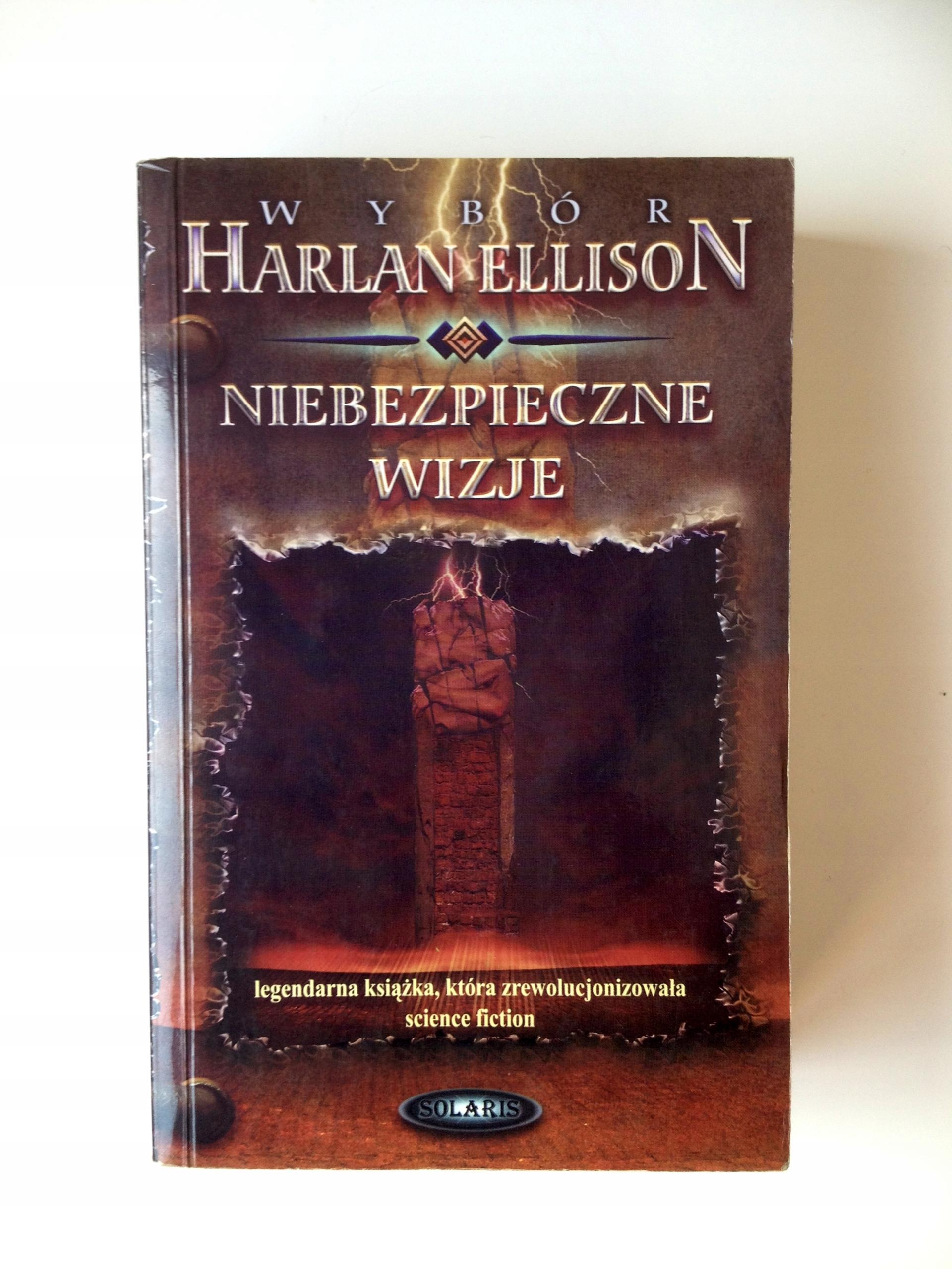 Niebezpieczne wizje antologia Harlan Ellison BCM