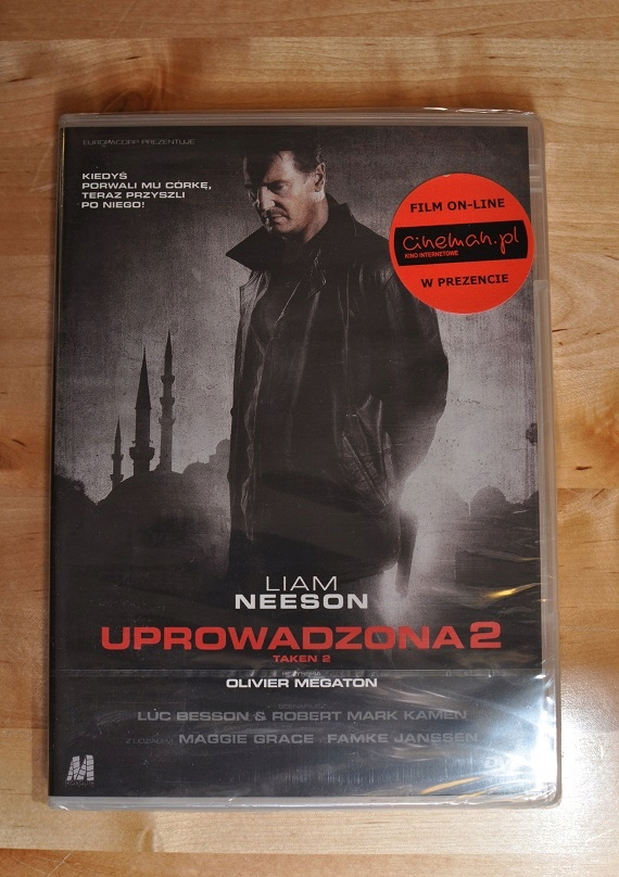 Uprowadzona 2 DVD Liam Neeson