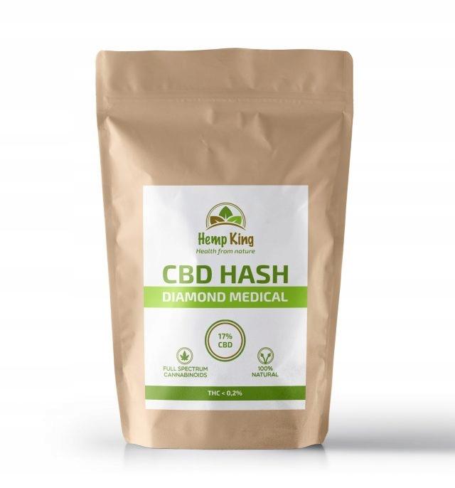 Medyczna marihuana- Hash Diamond Medical CBD 1g a7