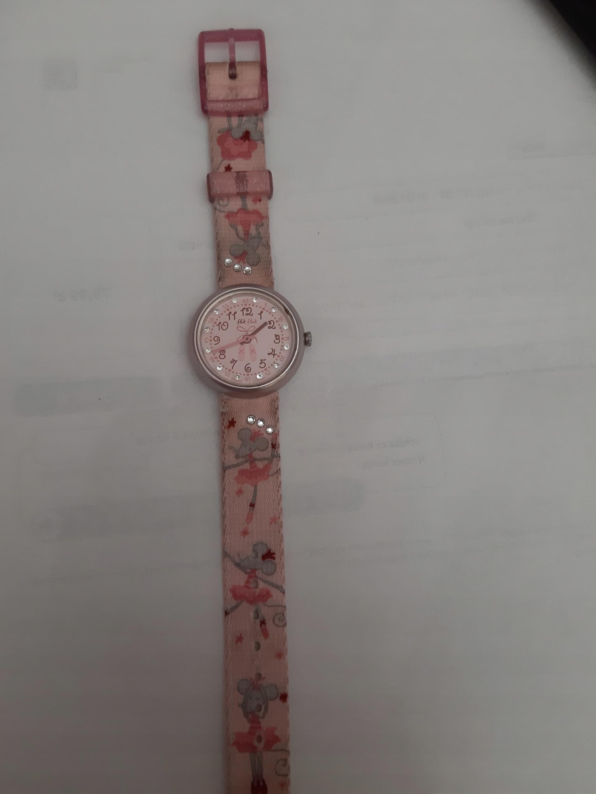 FLIK FLAK zegarek dla dziewczynki