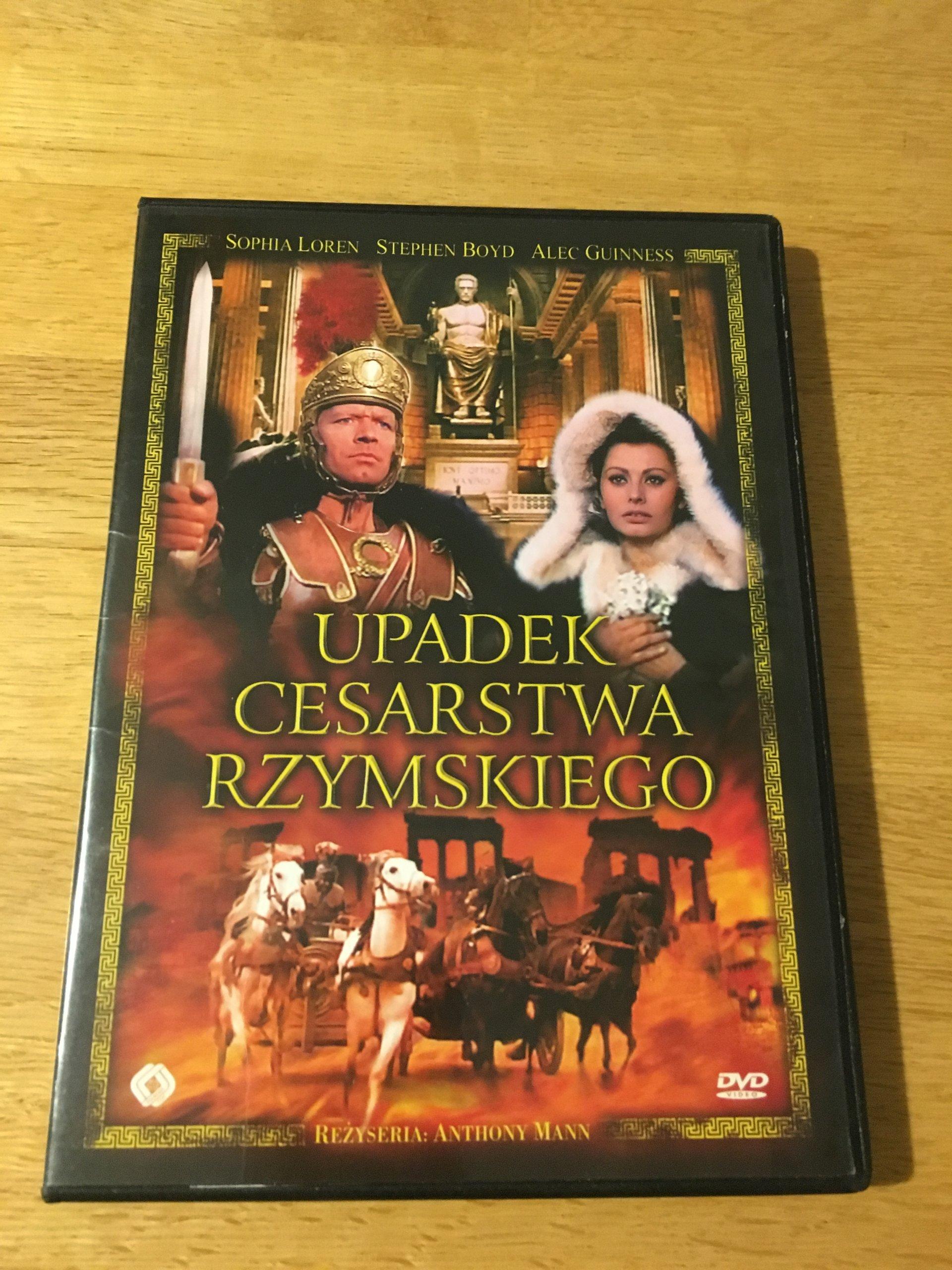 UPADEK CESARSTWA RZYMSKIEGO SOPHIA LOREN DVD NOWY