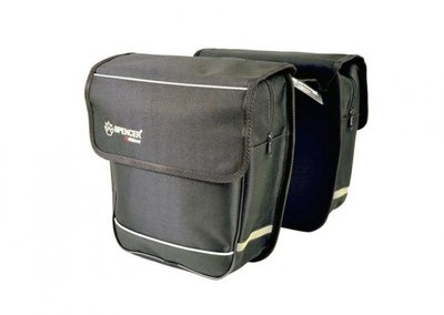Spencer Double Bag 18L sakwa rowerowa 2 komory
