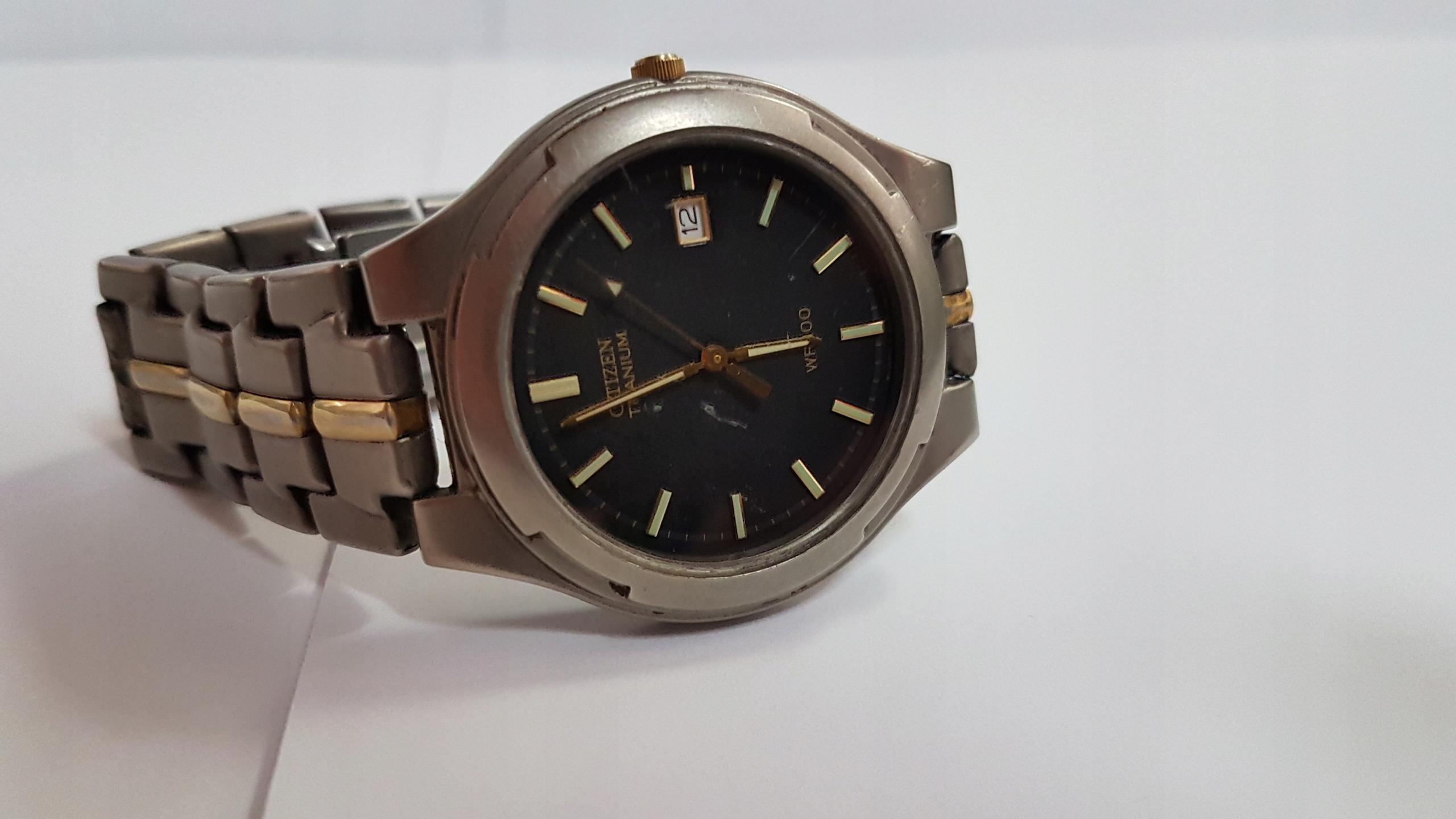Zegarek męski CITIZEN TITANIUM 2510-H31195