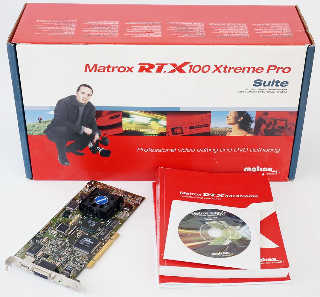 MATROX RTX100 EXTREME PRO TREIBER WINDOWS 8