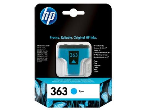 HP INC. Tusz nr 363 Cyjan C8771EE