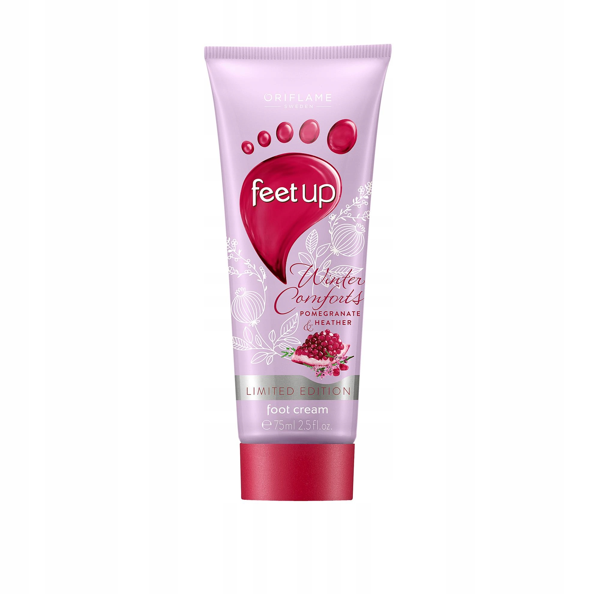 Krem do stóp z granatem i wrzosem Feet Up Oriflame