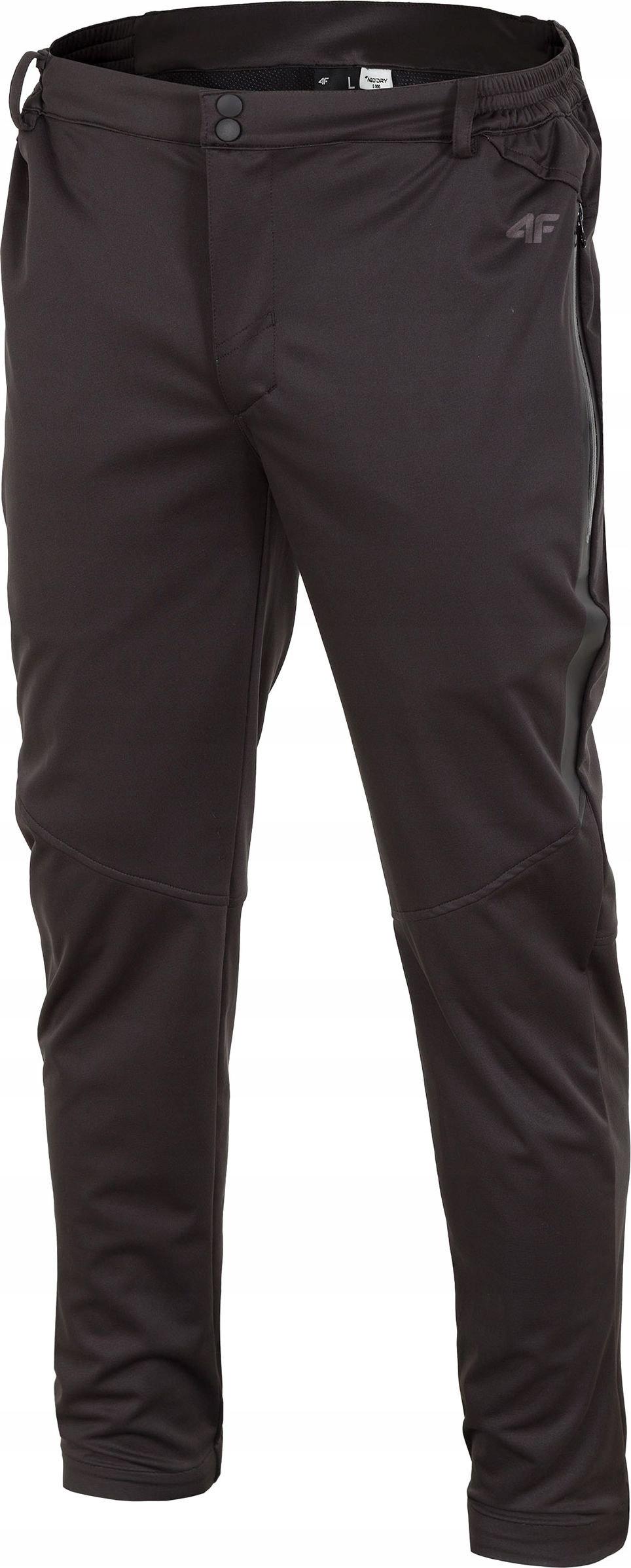 4f Spodnie męskie trekkingowe H4Z18-SPMT001 r. L