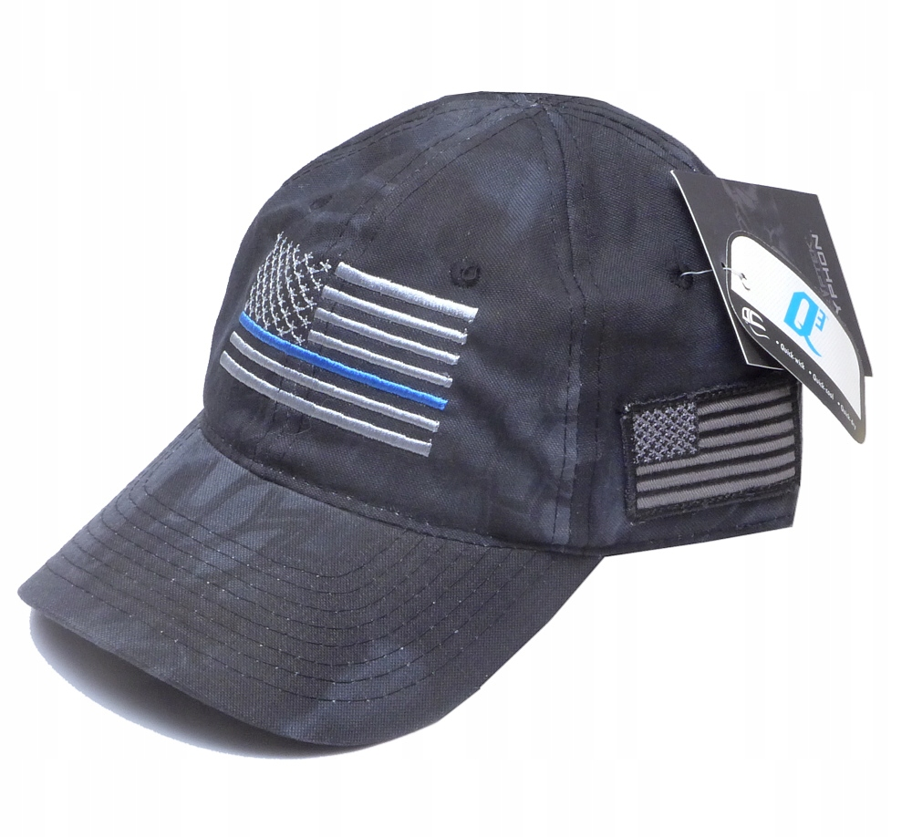 Czapka KRYPTEK Typhoon THIN BLUE LINE US Flag
