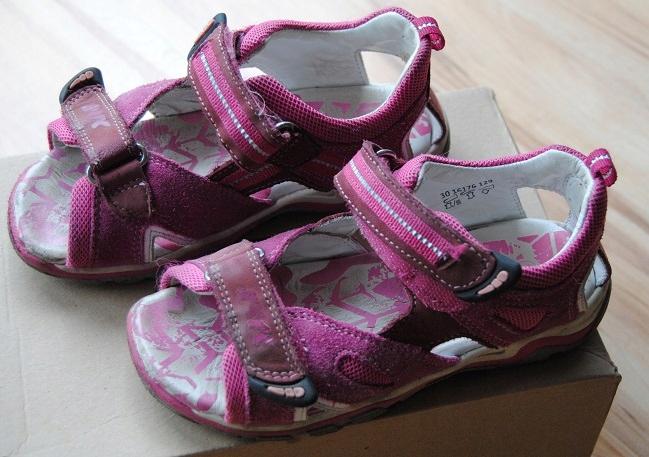 Sandały Bartek r.30, różowe