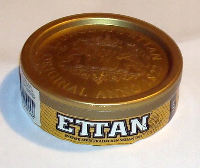 ETTAN - szwedzki snus do ssania .